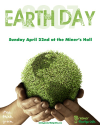 Poster for Earth Day in Rossland, 2007