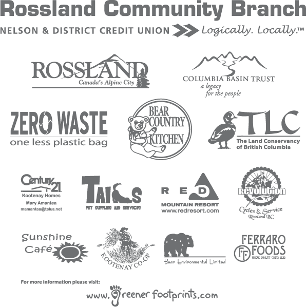 Rossland reusable bag sponsors 2008