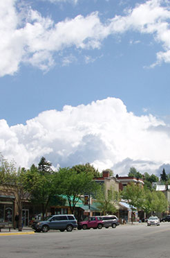 Rossland downtown